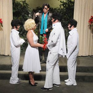 Elvis Devil In Disguise Wedding