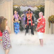 Elvis Blue Hawaii Wedding