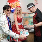 Elvis Doo Wop Diner Wedding