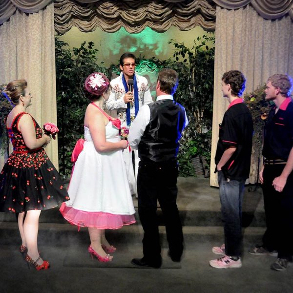 Elvis Hound Dog Wedding
