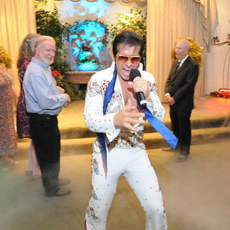 Elvis In Concert Wedding