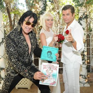 Outdoor Elvis Weddings Las Vegas