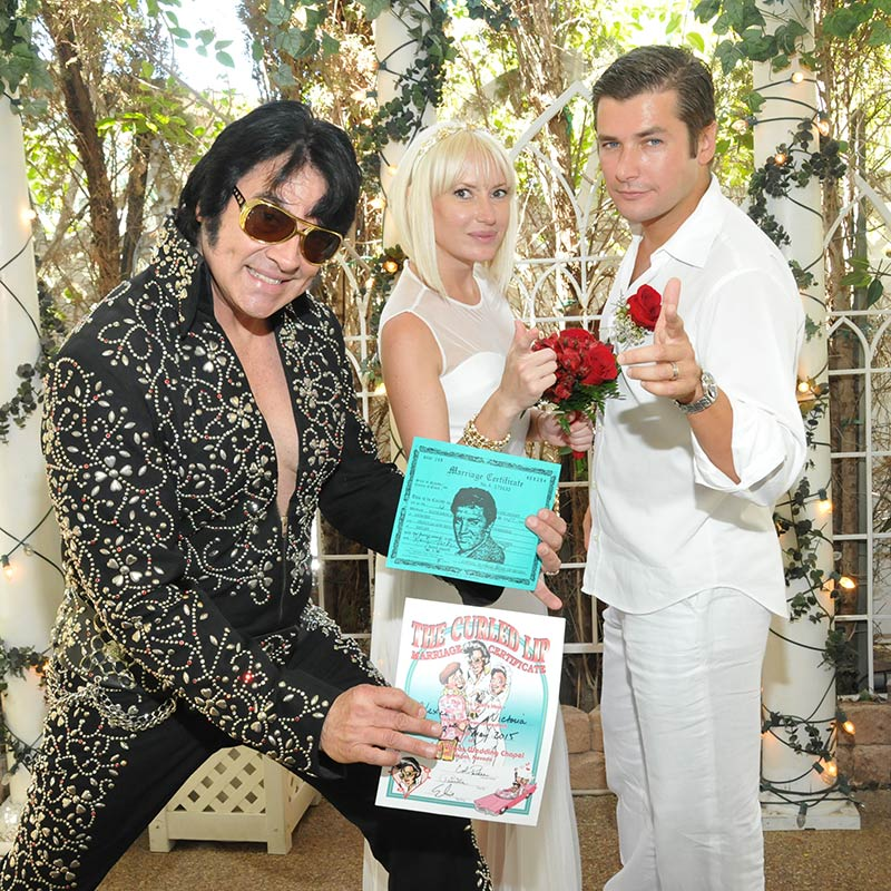 Elvis Wedding: Elvis Weddings Las Vegas