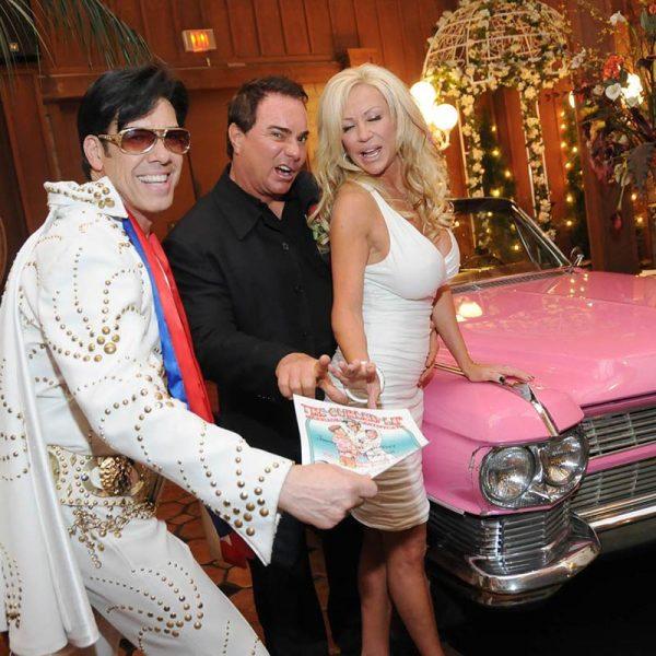 Elvis Pink Caddy Wedding
