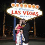 Elivs Las Vegas Sign Wedding