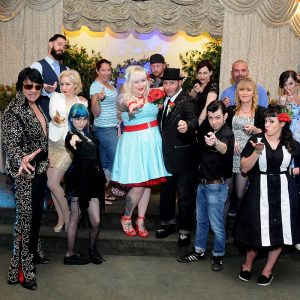 Rock-A-Billy Themed Wedding